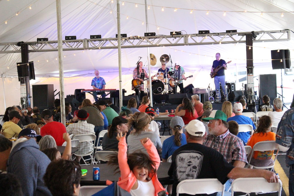 The Jennifer Marriott Band will entertain visitors for the second year.