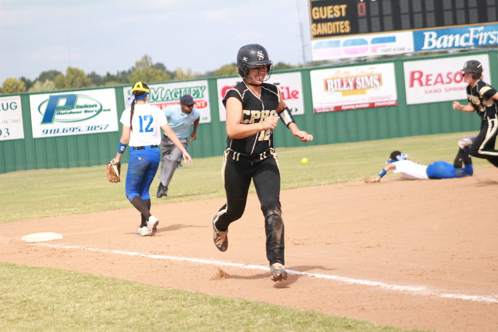 CPHS graduate Sydney Pennington is one of the leading batters for Oklahoma State University this season.