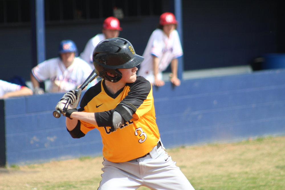 Ty Steelman was two for two at the plate with one run and one RBI.