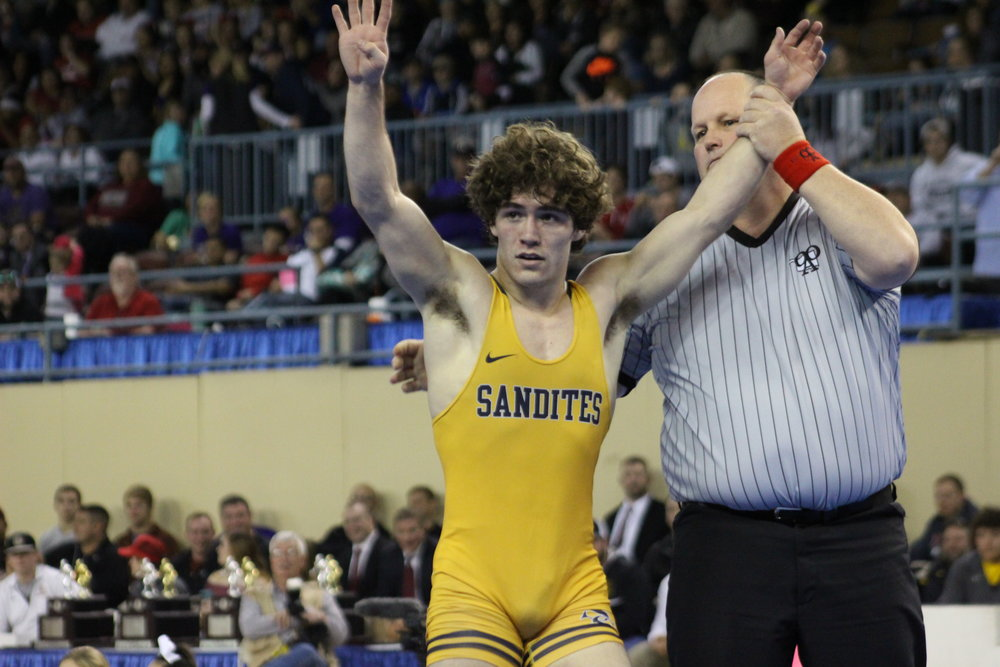 Daton Fix concluded his high school career in 2017 as a four-time undefeated State Champion with a 168-0 record.