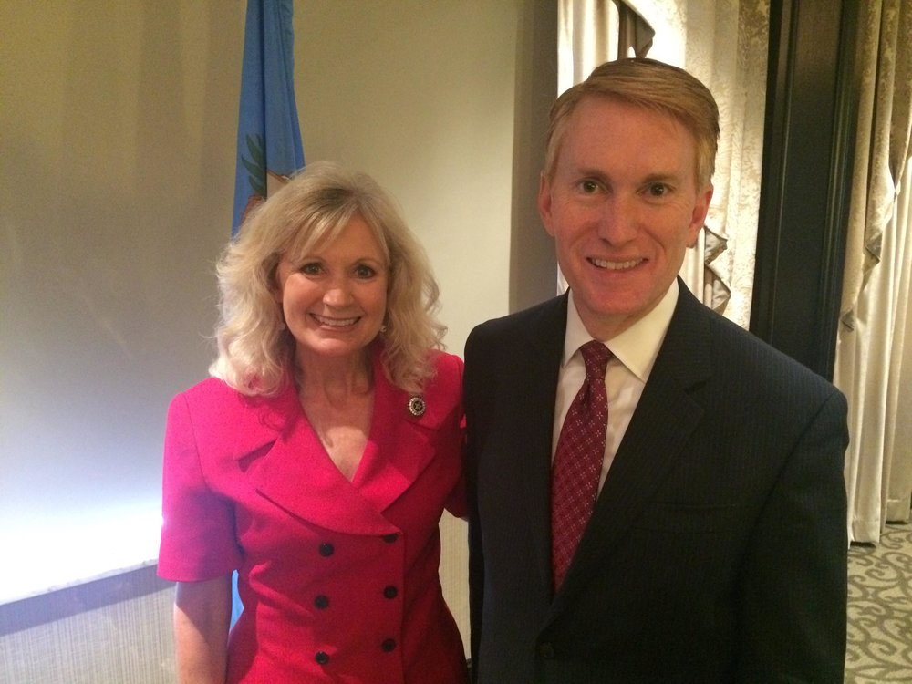 Incumbent Representative Jadine Nollan was recently endorsed by U.S. Senator James Lankford. (SUBMITTED).