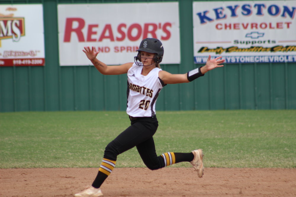 Kimi Presnell hit home runs in two different games last week.