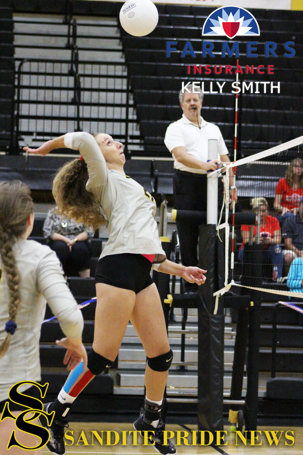 Cheyenne Henry scored the match-winning kill in game three. (Photo: Morgan Miller).    Click here to view few full gallery.