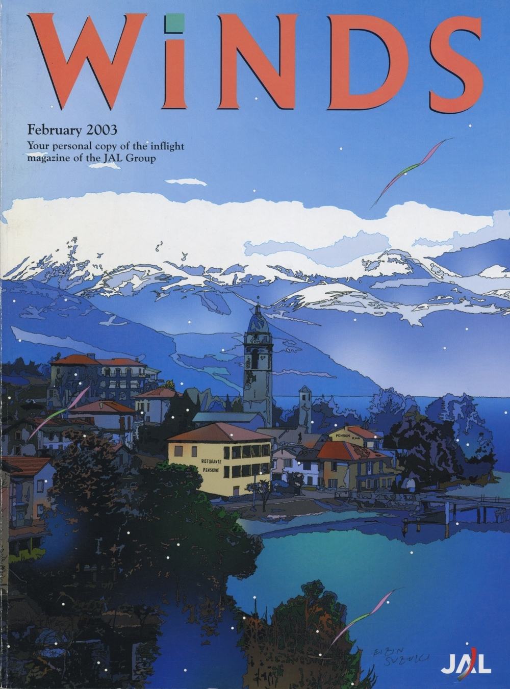 Winds magazine, Japan Airlines