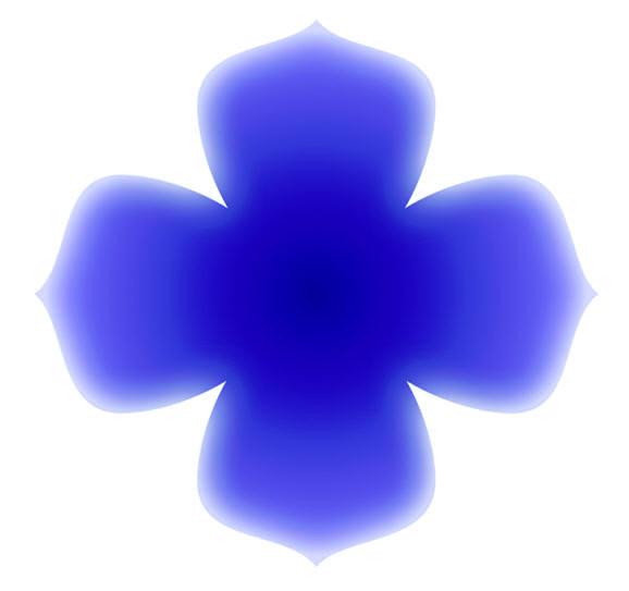 Blue Flower Meditation