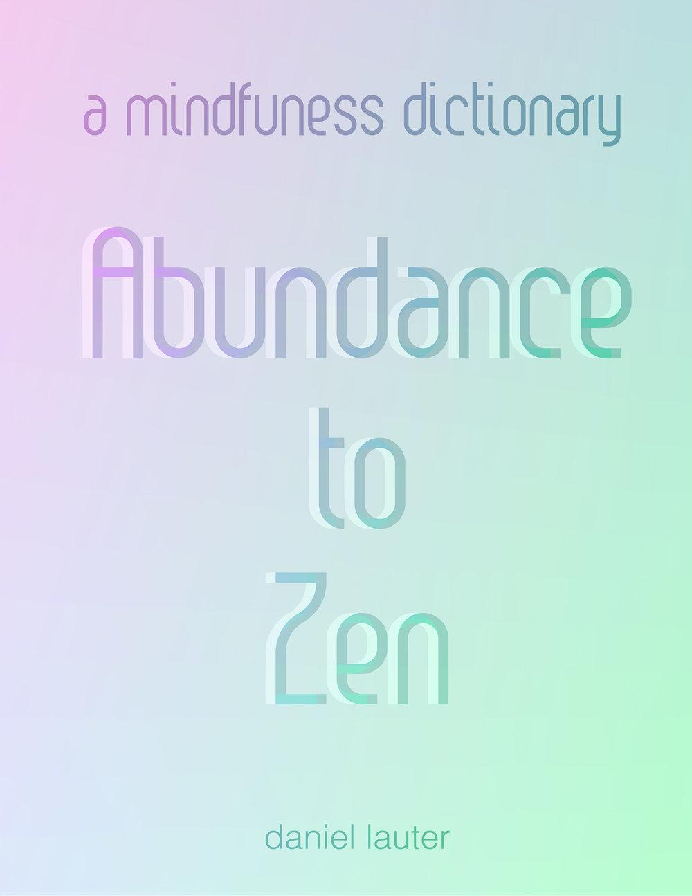 A Mindfulness Dictionary