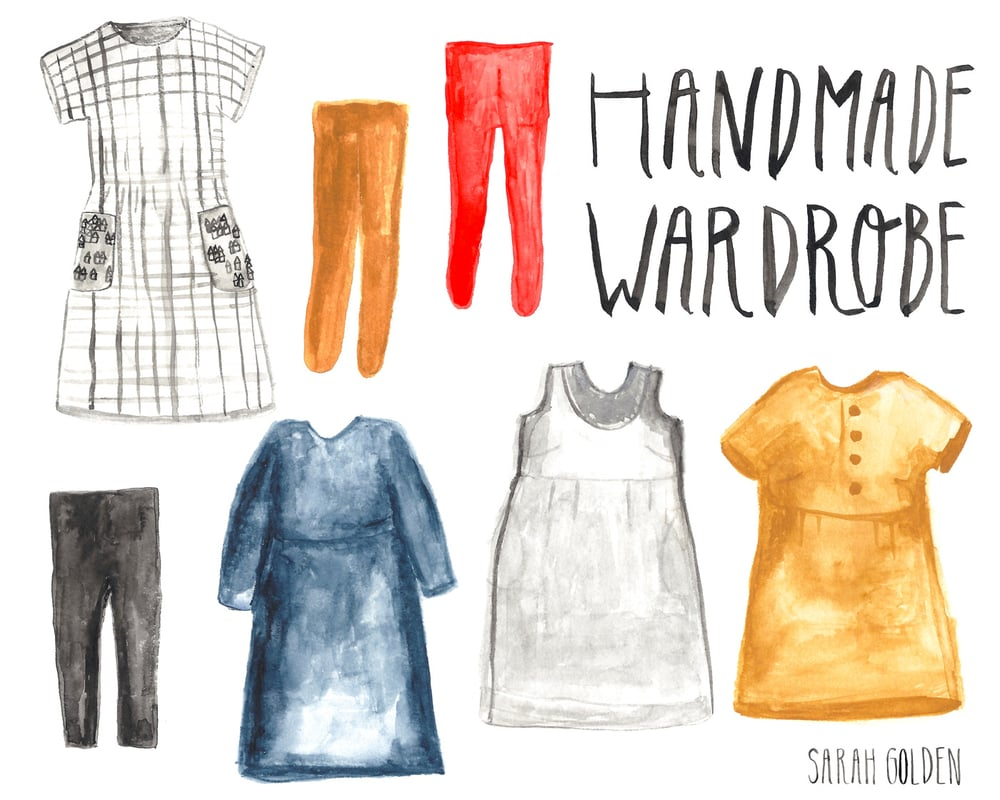 Handmade Wardrobe by Sarah Golden