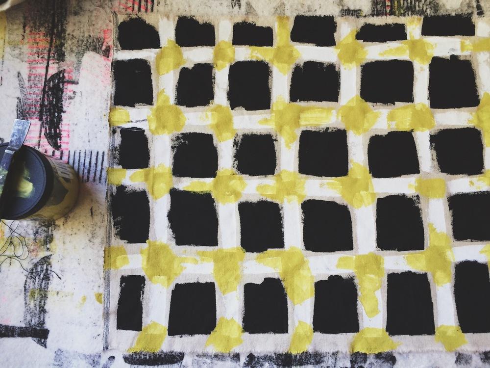 Painted Plaid, Sarah Golden
