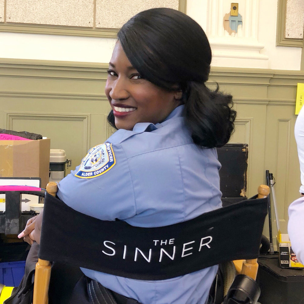 "Check me out in Season 2 of ""The Sinner"" playing a BAILIFF airing on the USA Network! (Co-Star)"