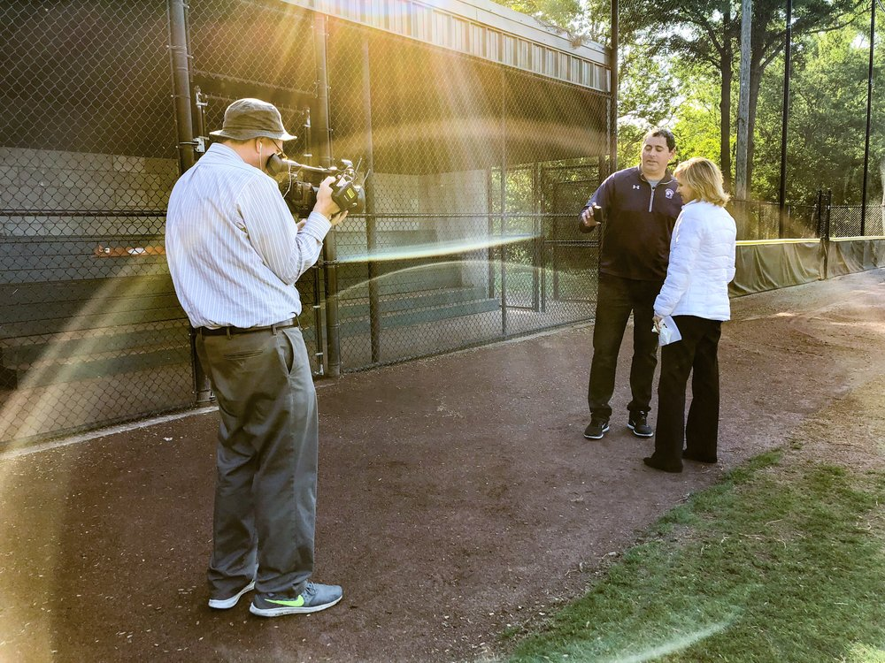 Buckhead Baseball dad and coach, Nathan Allen, shares a highlight of his son's home run captured by the HiCast Sports Network with 11Alive reporter Jennifer Leslie.