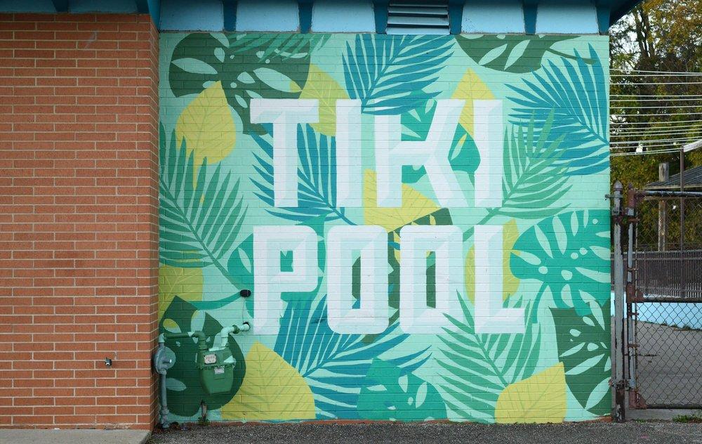 TIKI POOL - Restoration of aneighborhood pool(Coming soon)