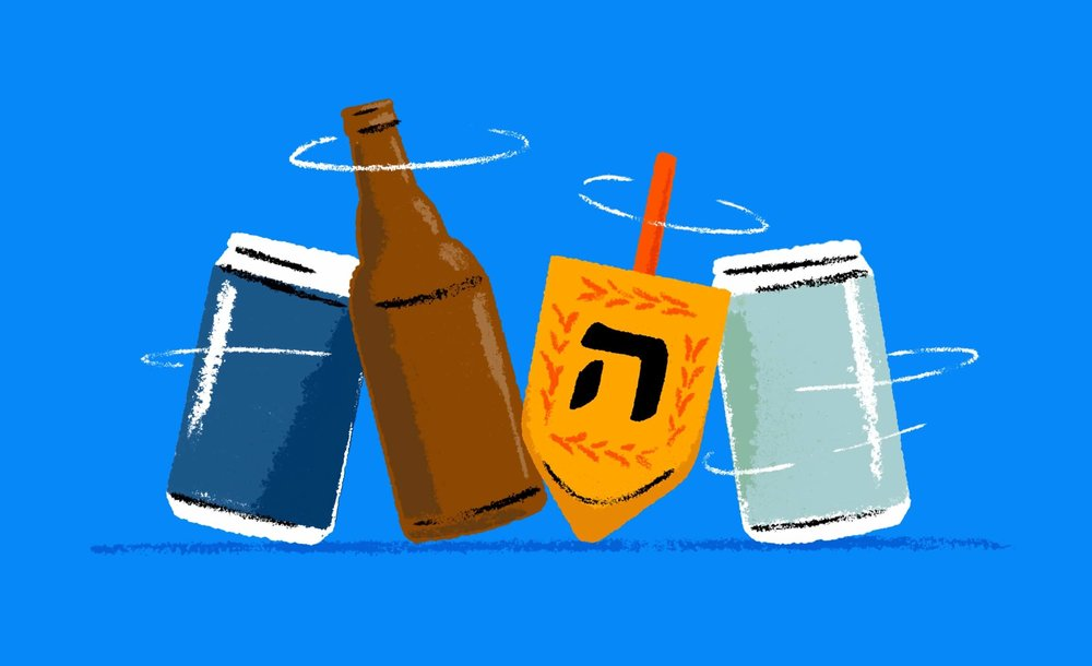 Forget Manischewitz, Hanukkah Should Be All About Beer