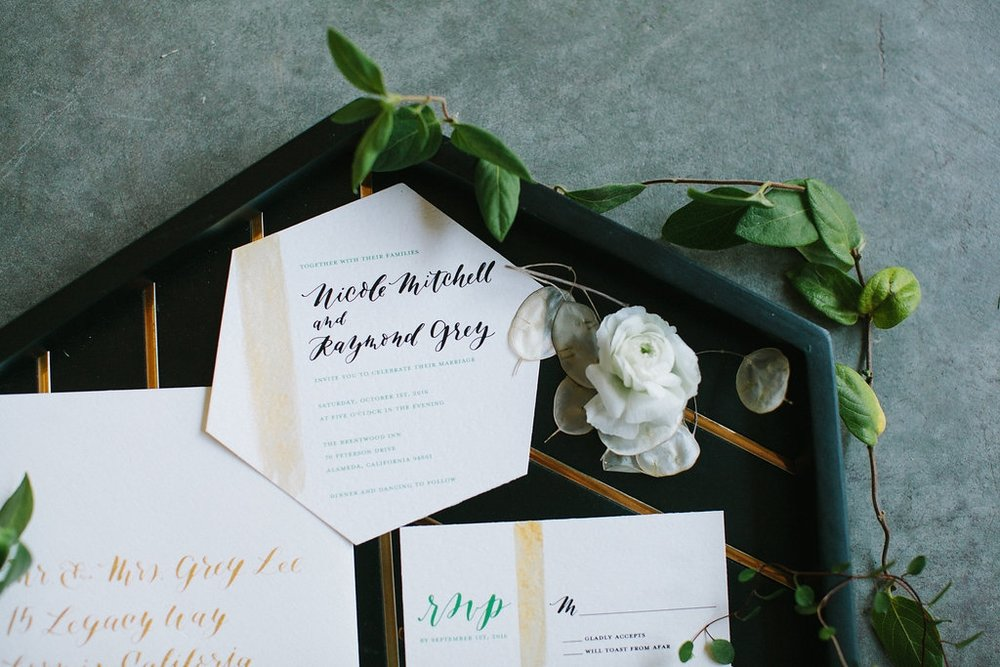 WINTERY WEDDING STYLED SHOOT   INVITATION SUITE, PLACE CARDS, SIGNAGE
