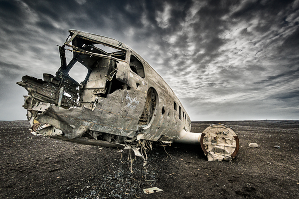 Crashed WW2 DC3, Iceland by Michael Smyth