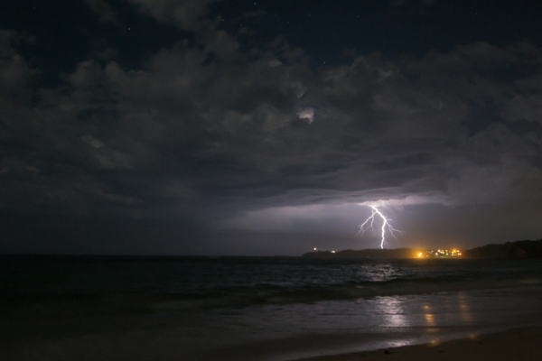 Lightening strike by Michael Smyth