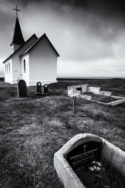 The graveyard at Tjorn by Michael Smyth