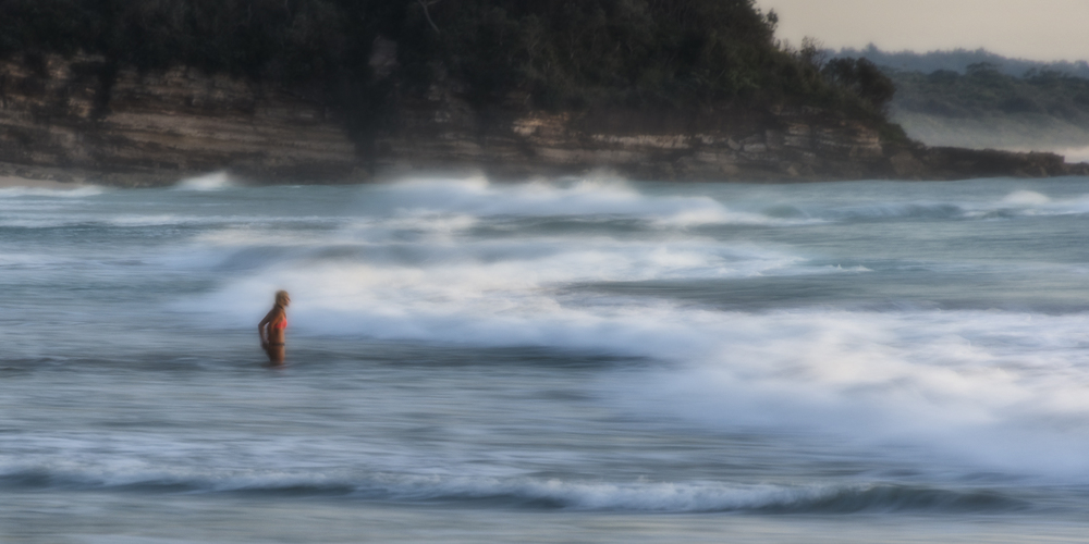 Early Bather, Mollymook (C) Michael Smyth 2016