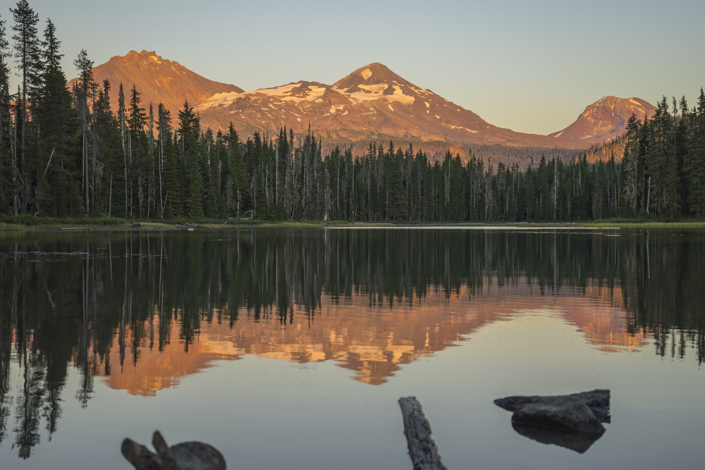 3 Sisters, Scott Lake, Oregon