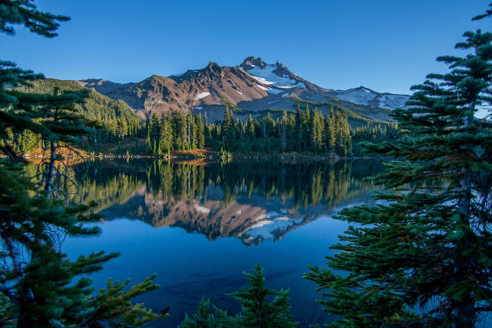Mt Jefferson, Scout Lake, Oregon