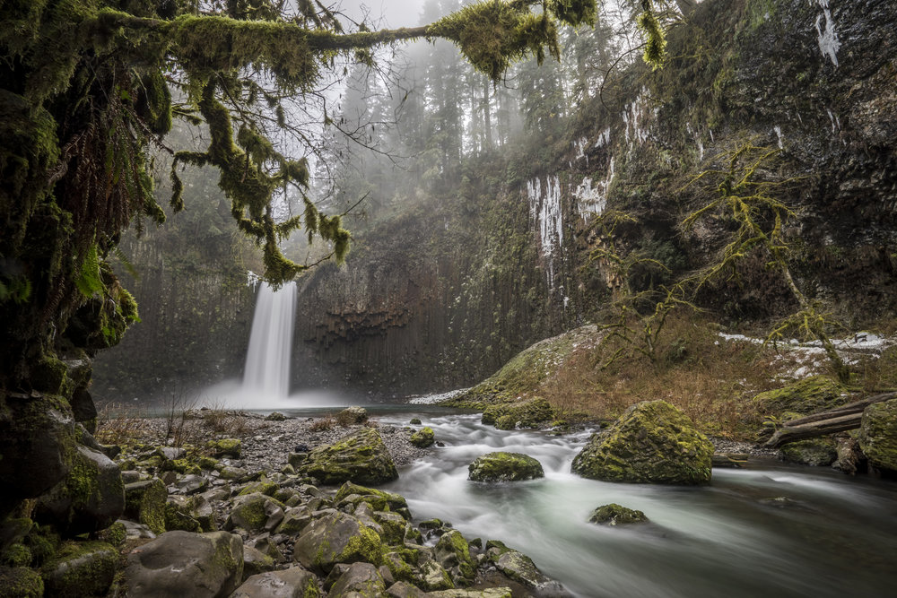 Aback Falls, Oregon