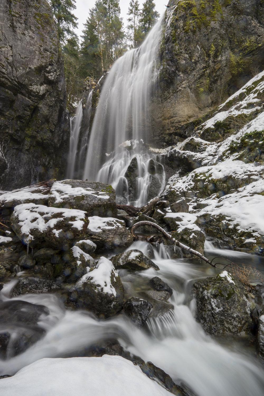 Henline Falls, Oregon