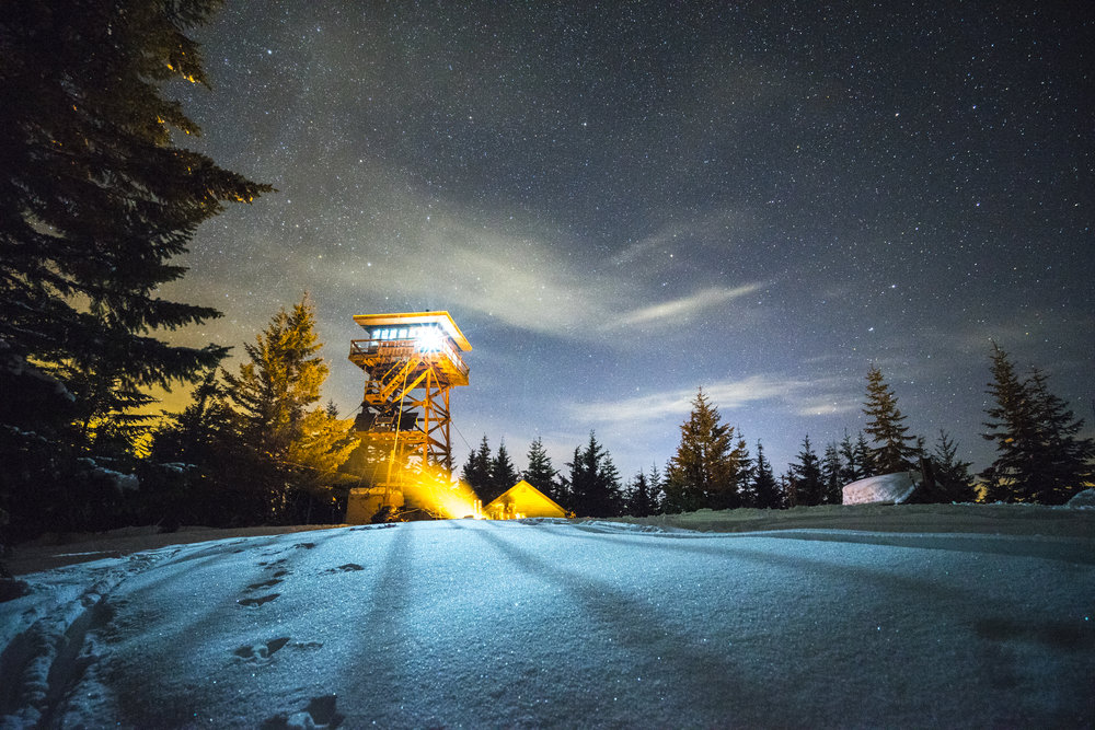 Lookout Tower, Oregon