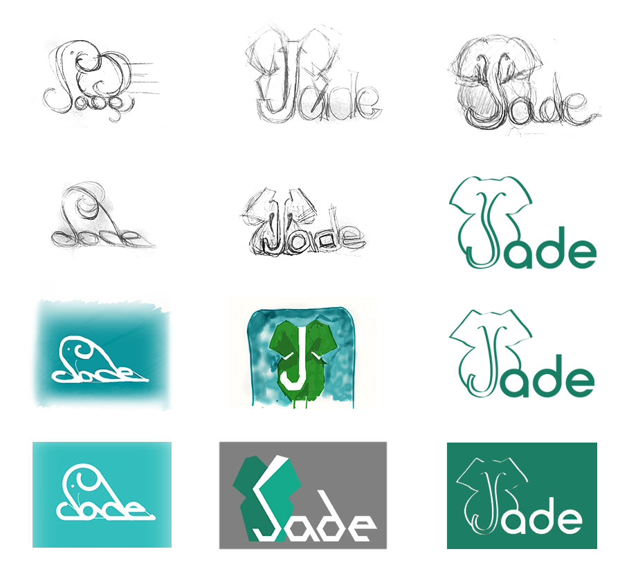 jade logo development