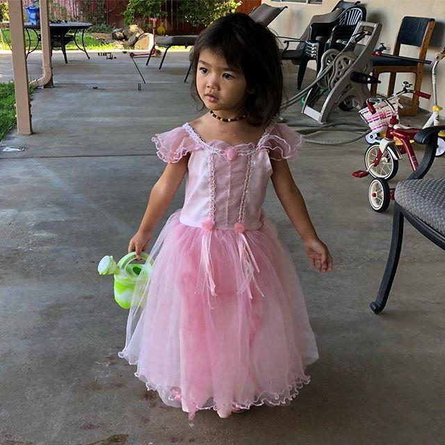 ❤️Princess Riley❤️👑👑👑 #toddlerprincess #bigpinkdress #socalprincess #loveyou