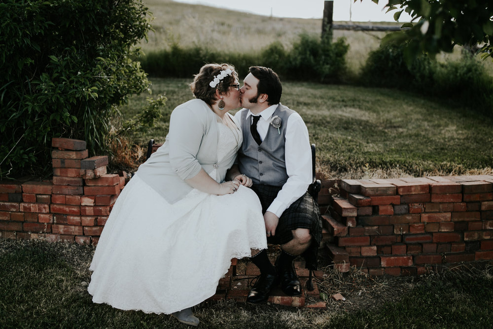 THE CURRYS - Backyard Ranch Wedding | Lewistown, MT