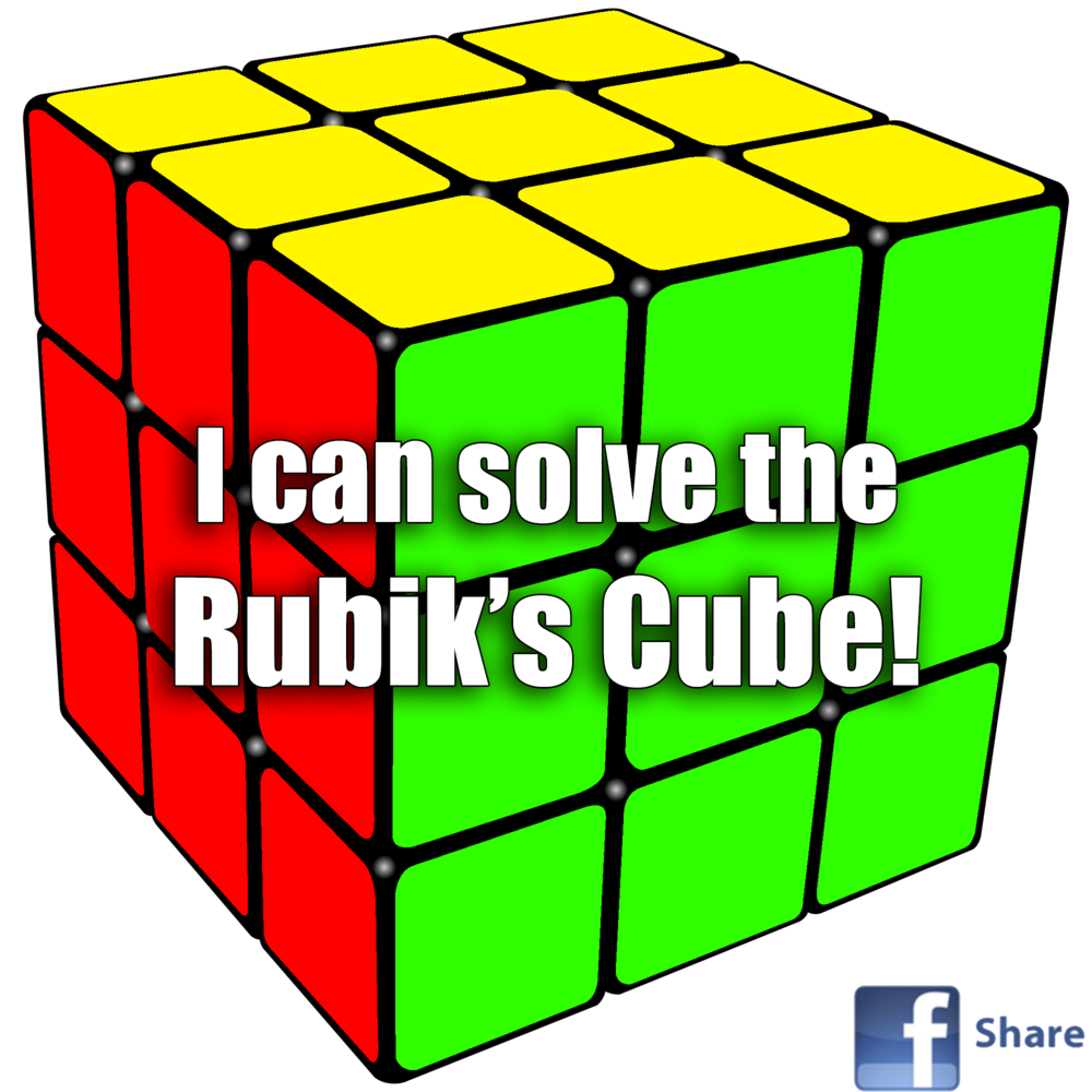 How To Make Your Own Emblem On A Rubik's Cube
