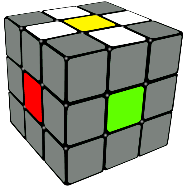 pre-cross on the Rubix Cube