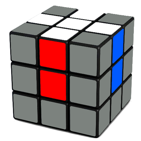 Your Goal -  A white cross on the   Rubik's Cube