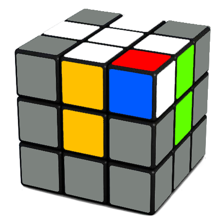 rubiks cube corner wrong place