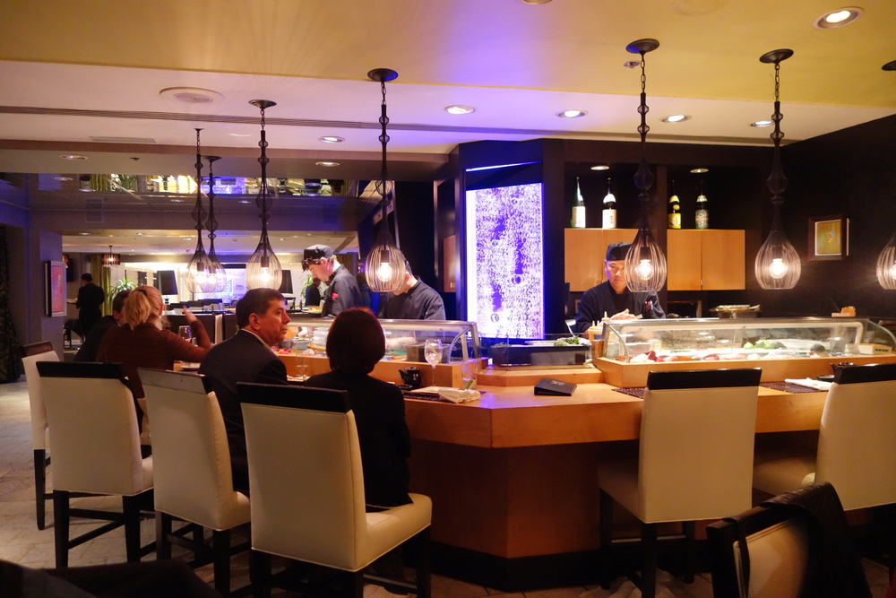 Sushi Bar at Anzu Restaurant and Bar.