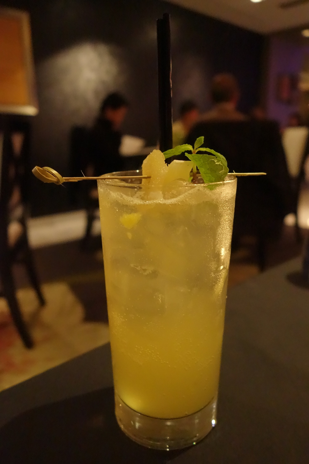 Virgin Pineapple Express Drink at Anzu Restaurant and Bar.