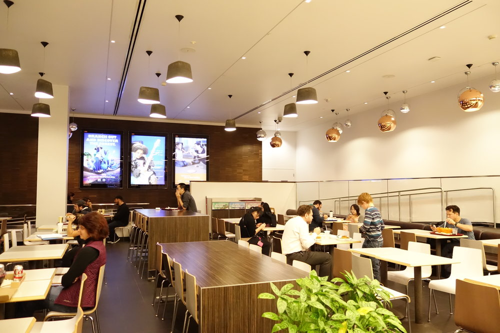 Inside the Metreon Food Court