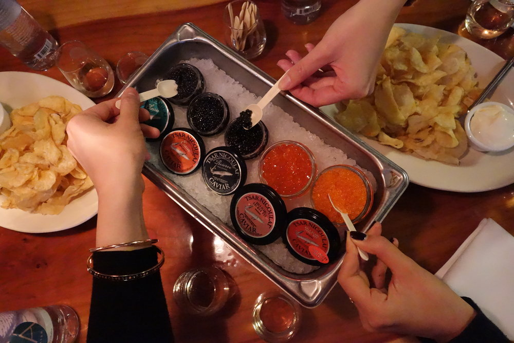 Tsar Nicoulai Caviar & Roe
