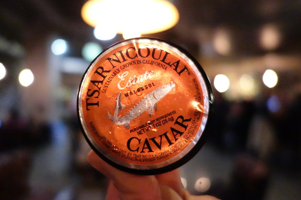 Tsar Nicoulai California Estate Sturgeon Caviar