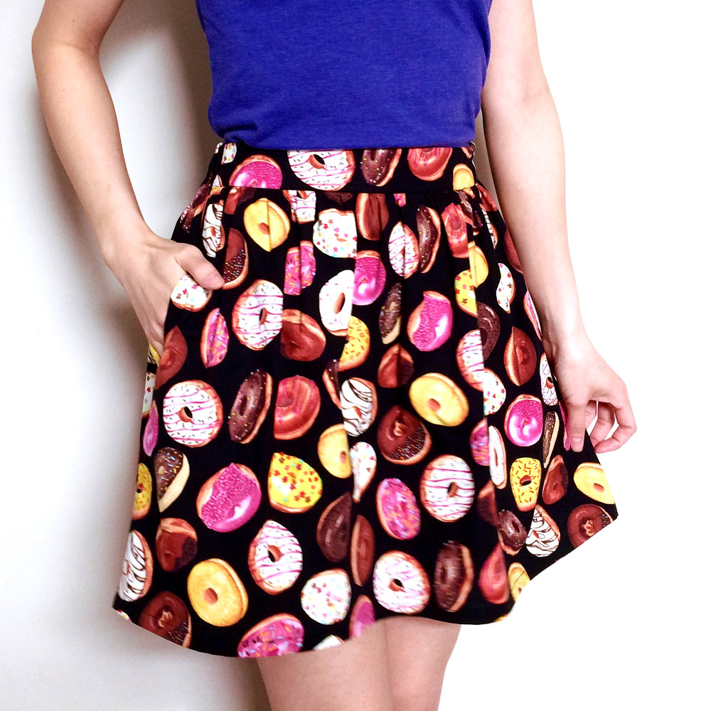 Donuts Skirt by BYMUN