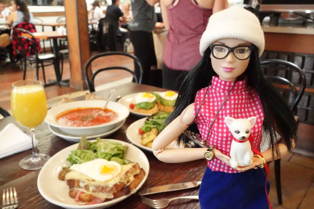 @Foodie.Barbie & Macarons visit Le Marais Bakery.