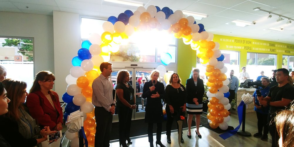 Ribbon Cutting Ceremony for Goodwill San Rafael's re-opening