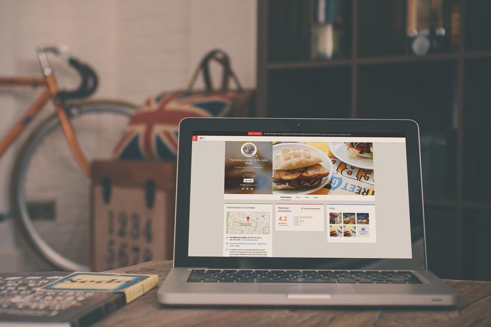 Creazione profilo Google Plus