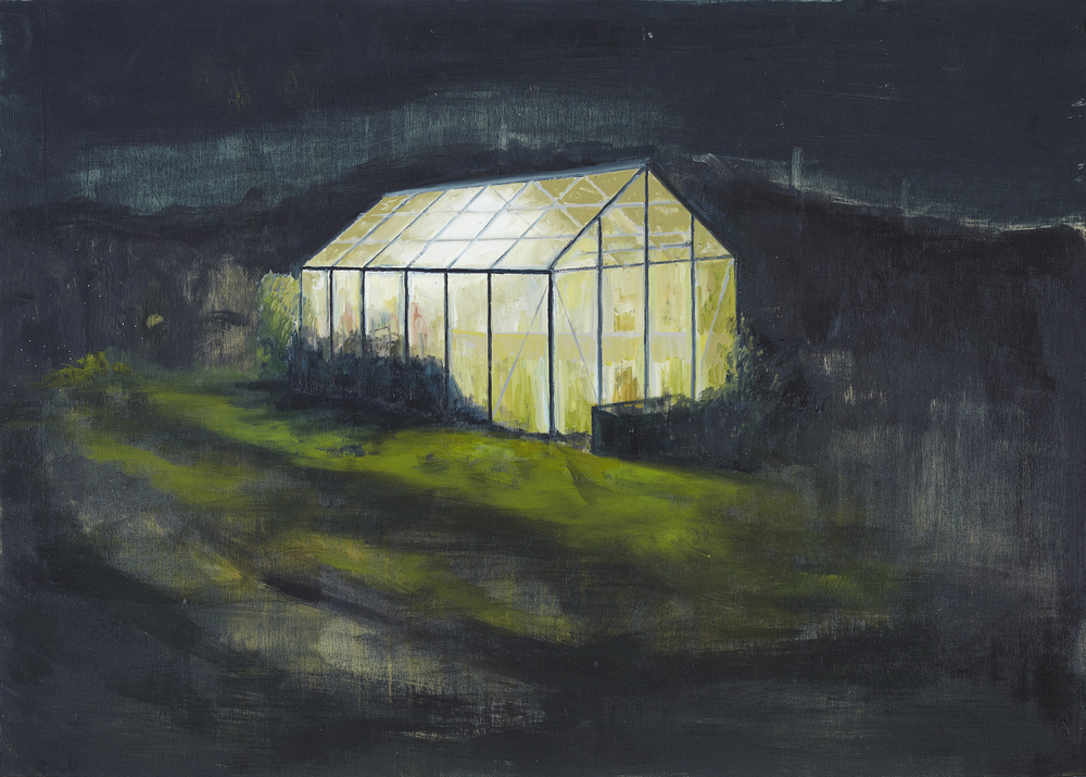 Nightlight 2012 Oil on Plywood 45 x 63cm