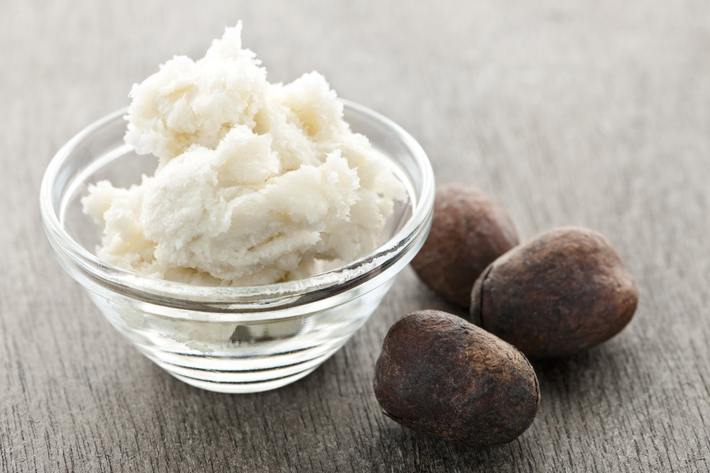 Shea butter - Shea butter is made from the seed of the Shea tree, and is a cream, solid oil that is an excellent natural moisturiser that contains vitamins A and E.The Shea butter we use is Fairly traded, organic and unrefined. It works deep into the skin leaving it soft, smooth and refreshed.