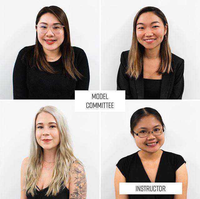 Meet our Professor & Model Committee 🌹