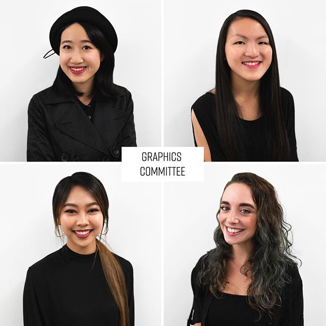 Meet our Graphic's Committee 🌹