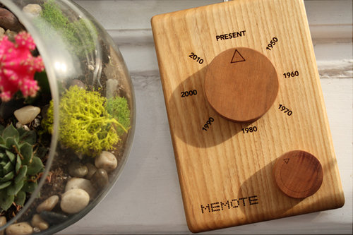 MEMOTE - A remote-controlled time machine.