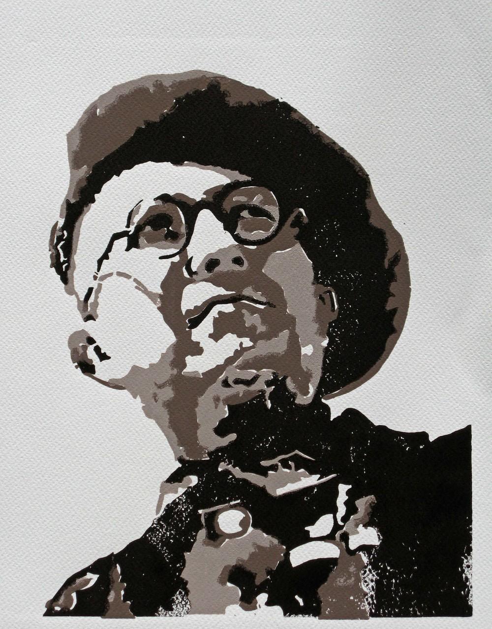 Lino-gravures de Résistants Haut-Savoyards Pourquoi les ai-je faites?