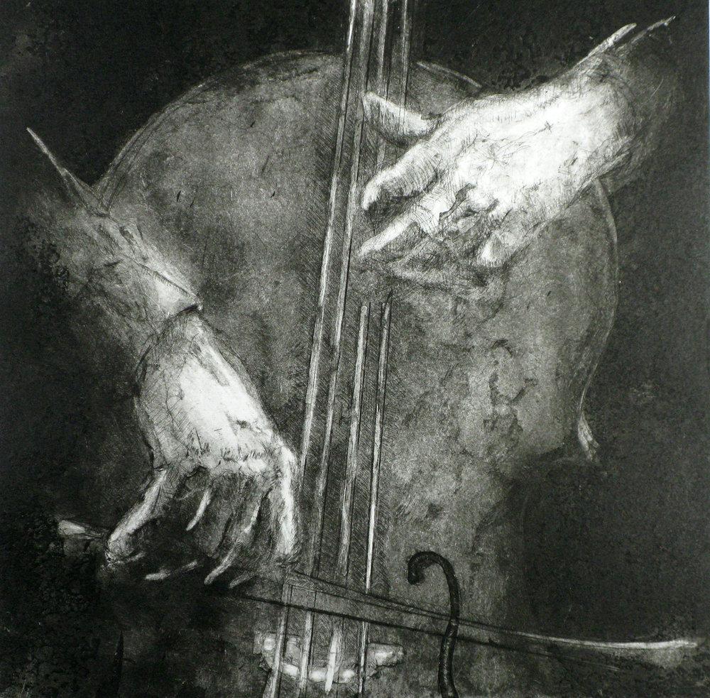"""""""Une légère gravité"""" (2) - Violoncelle"""