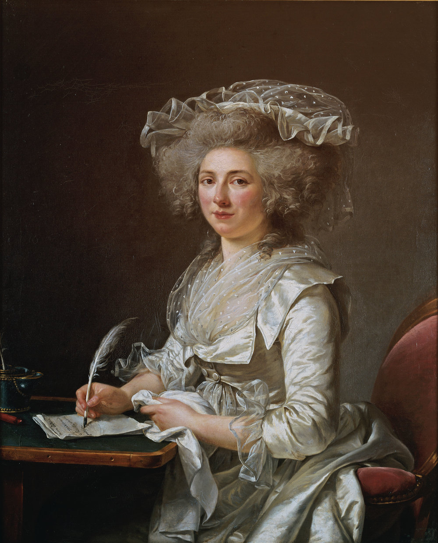 Madame Roland, c. 1787, by Adélaïde Labille Guiard